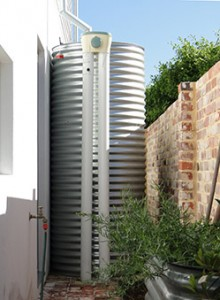 6500L steel tank with whole of house water harvesting, East Vctoria Park
